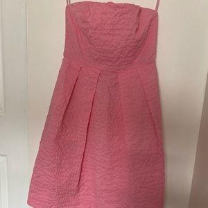 JCrew Strapless Dress (it has pockets!)